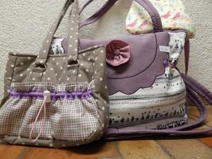Jungmädchen- und Damentaschen